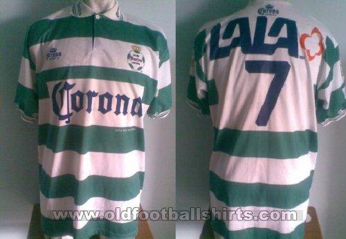 594f0474c Santos Laguna Home חולצת כדורגל 1996 - 1997.