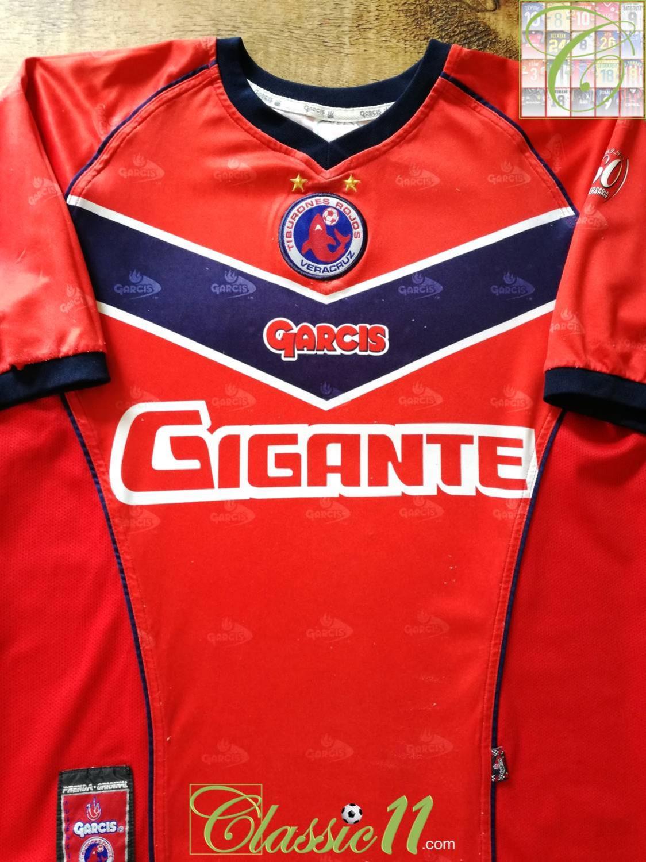 da2f56d4d59 Tiburones Home camisa de futebol 2002 - 2003.
