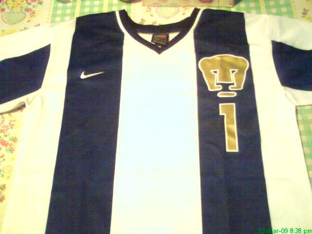 a66c383ea2a Club Universidad Nacional Goalkeeper camisa de futebol 1998.