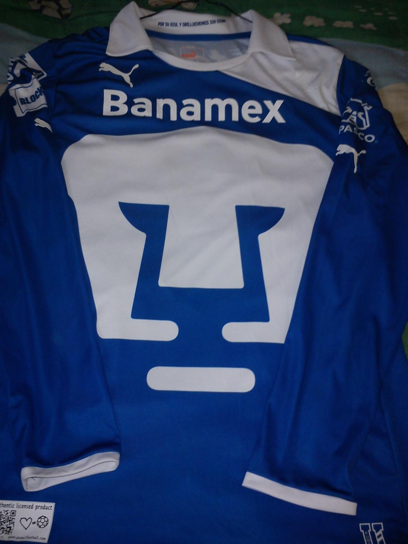 outlet store a5a46 ef1be Club Universidad Nacional Goalkeeper football shirt 2012 - 2013.