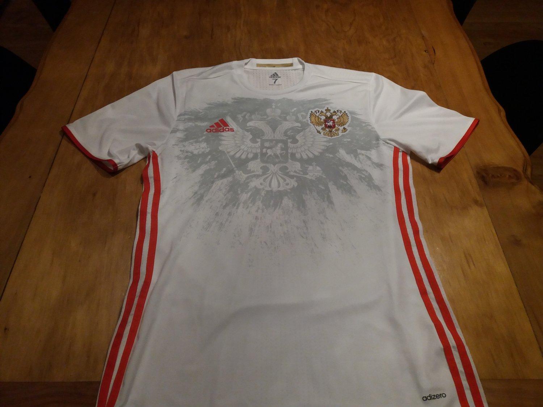 ac2291a671f Russia Away camisa de futebol 2016 ...