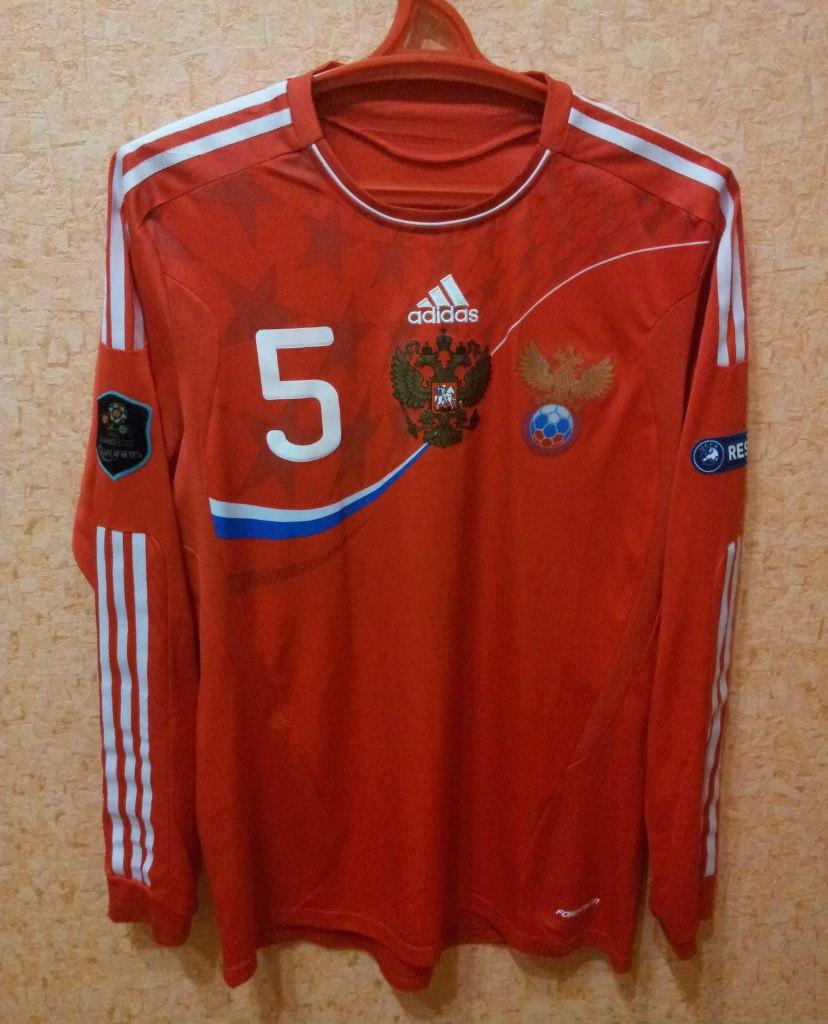 Russia Home Football Shirt 2011