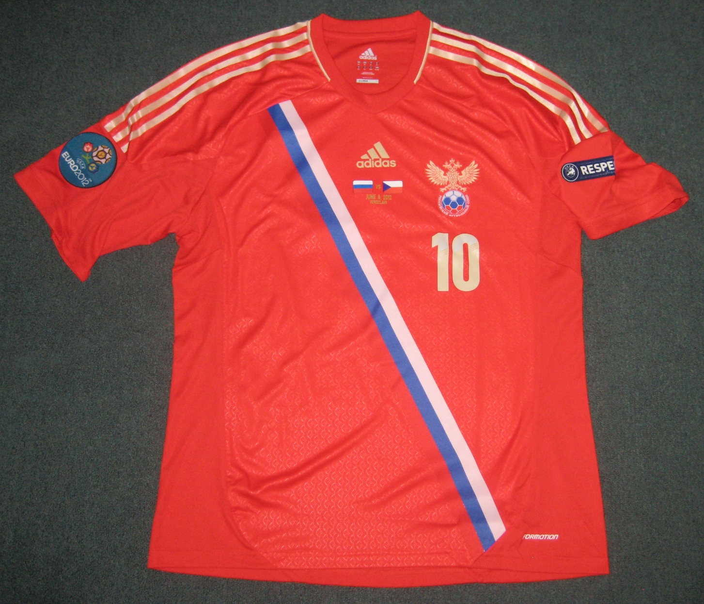 Russia Home Football Shirt 2013