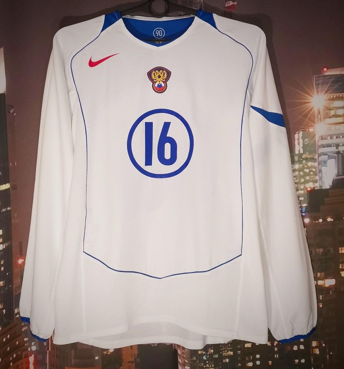 Russia Away Football Shirt 2004