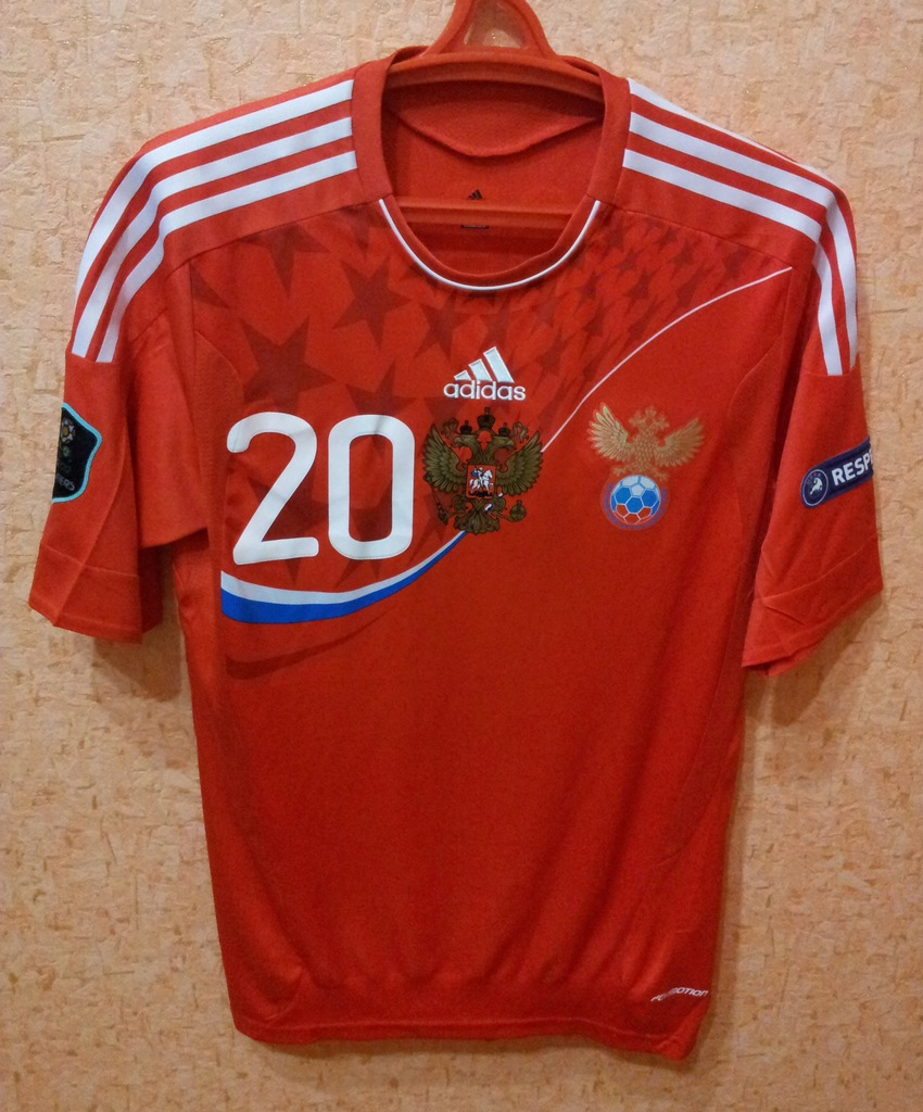 Russia Home Football Shirt 2011. Added On 2011-11-22, 15:57
