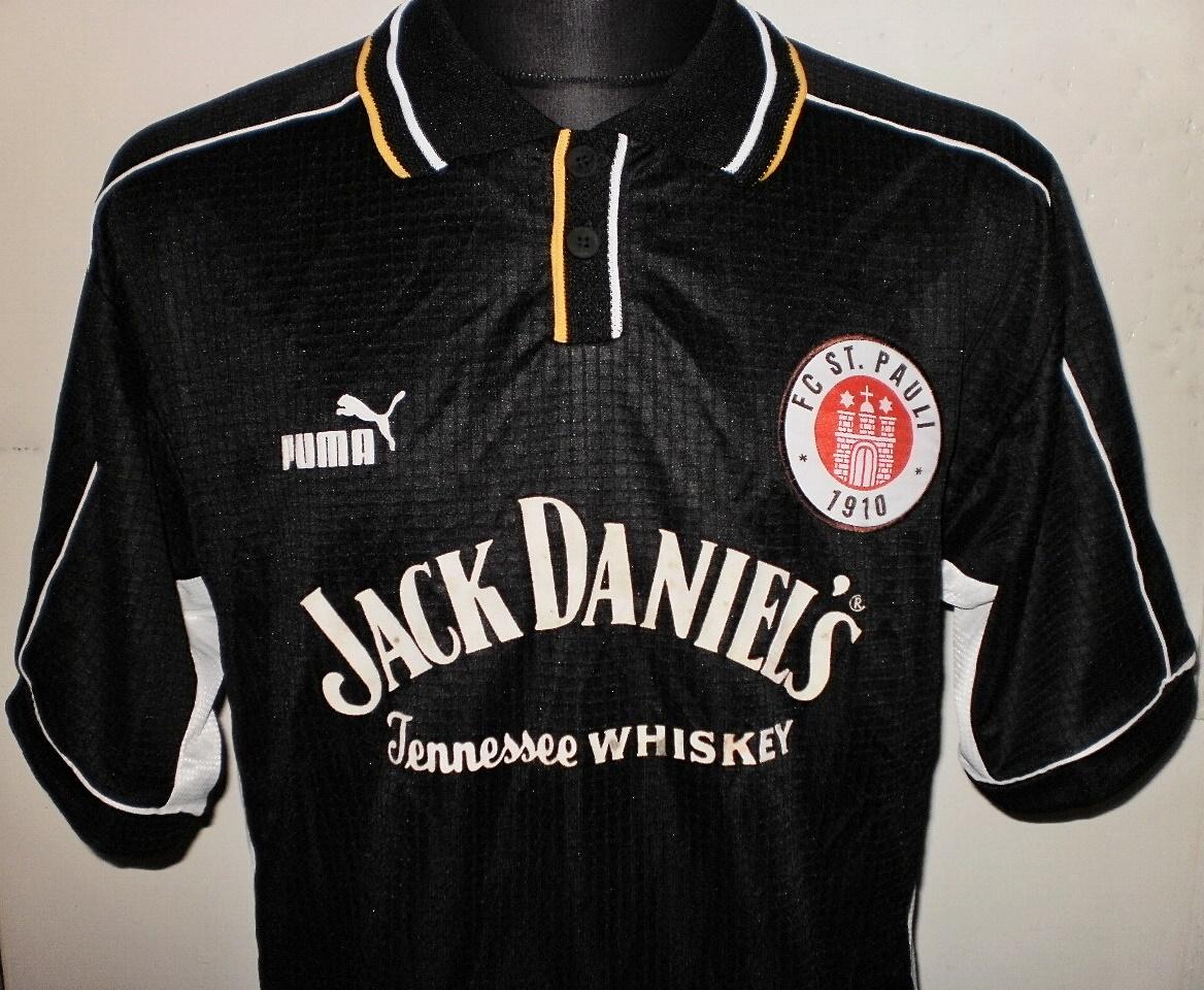 PAULI 1910 Pin Badge Sponsor Jack Daniel´s Old No 7 Whiskey Fussball FC ST
