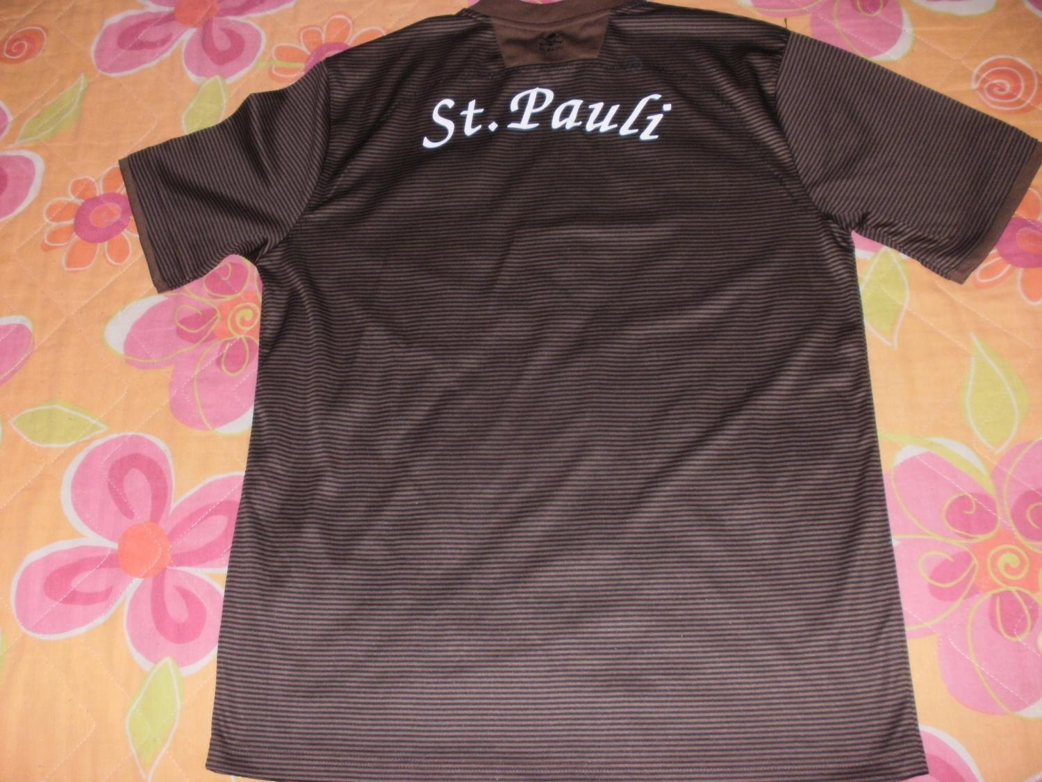 st pauli home football shirt 2008 2009 added on 2015 07. Black Bedroom Furniture Sets. Home Design Ideas