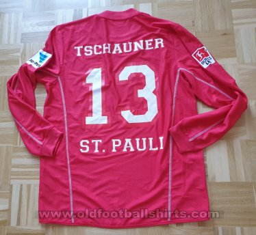 St Pauli Goalkeeper football shirt 2012 - 2013