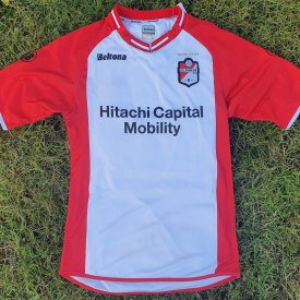 FC Emmen Home Maillot de foot 2018 - 2019 sponsored by Hitachi Capital Mobility