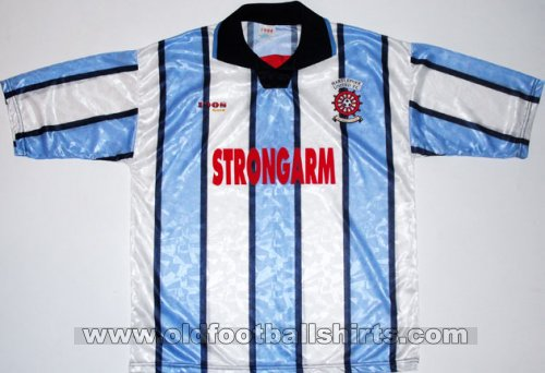 Hartlepool United Home Maillot de foot 1995 - 1997