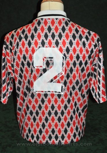 Hereford Away football shirt 1993 - 1995