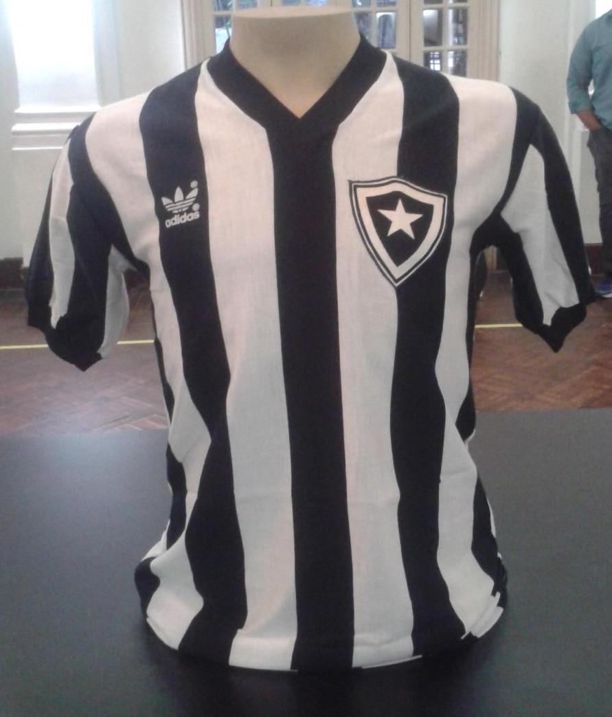 Botafogo Home camisa de futebol 1986. b7884ce5201e9
