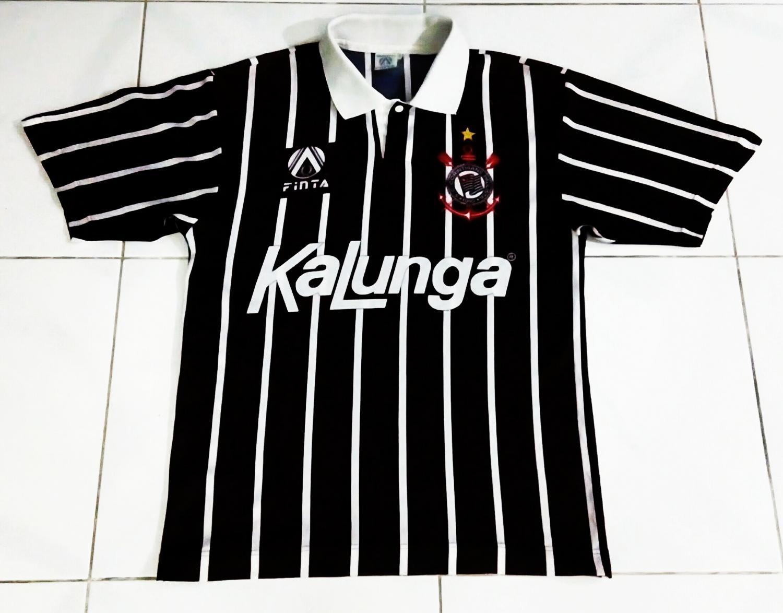 2222387810 Corinthians Away camisa de futebol 1992 - 1994.