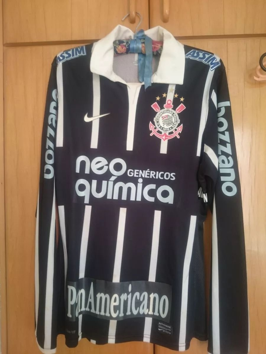 9f06cec6028 Corinthians Away Maillot de foot 2009 - 2010. Sponsored by Neo Quimica