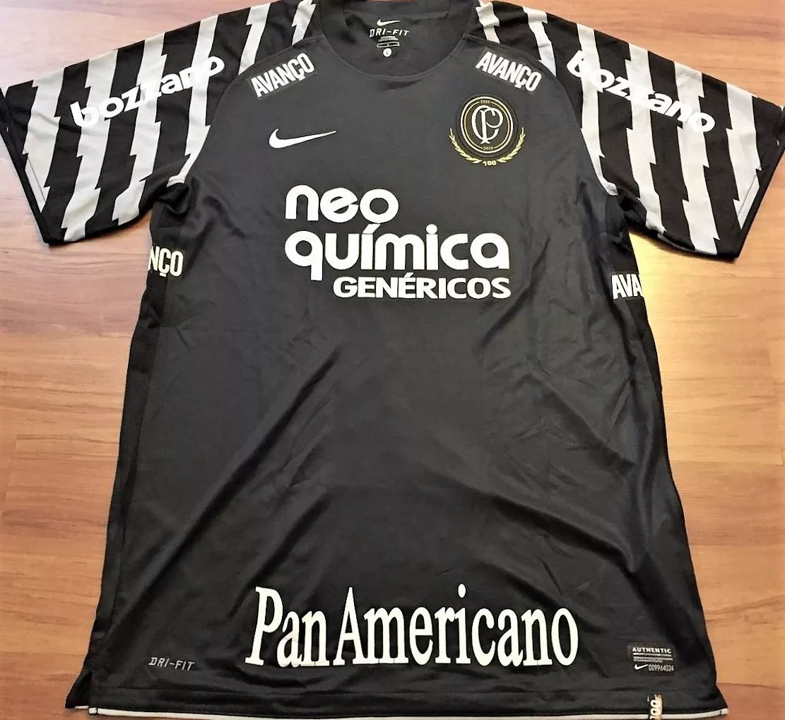 6baa74cf1 Corinthians Goalkeeper maglia di calcio 2010. Sponsored by Neo Quimica