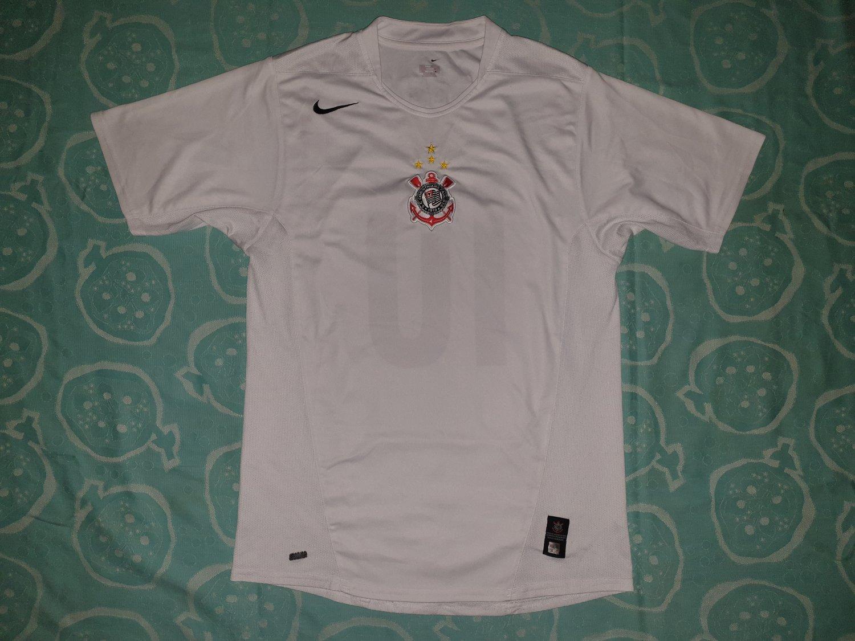 Corinthians Home camisa de futebol 2006 - 2007. f74a90b018128