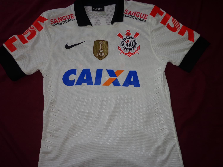 Corinthians Home maglia di calcio 2013. d22bc6451