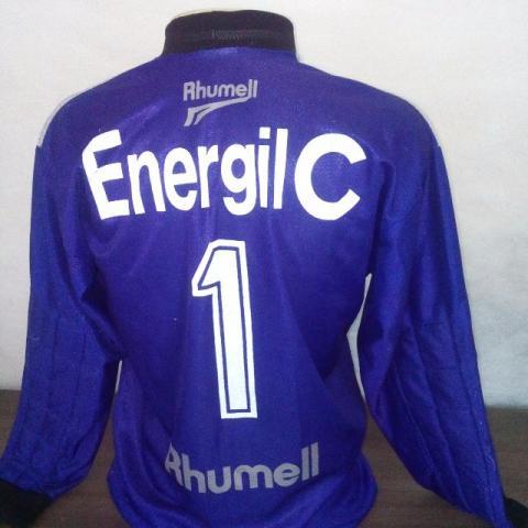 Cruzeiro Goalkeeper camisa de futebol 1998. fbbbbd2a3a920