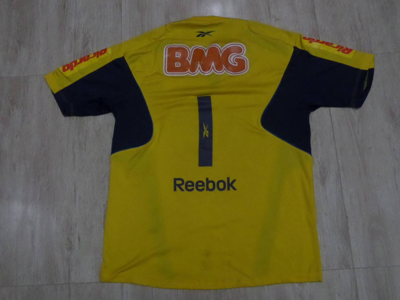 066869775bf Cruzeiro Goalkeeper camisa de futebol 2010.