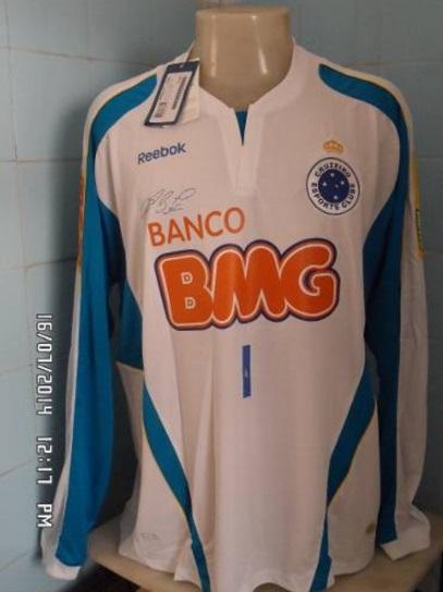 79083aa3163 Cruzeiro Goalkeeper Maillot de foot 2010.