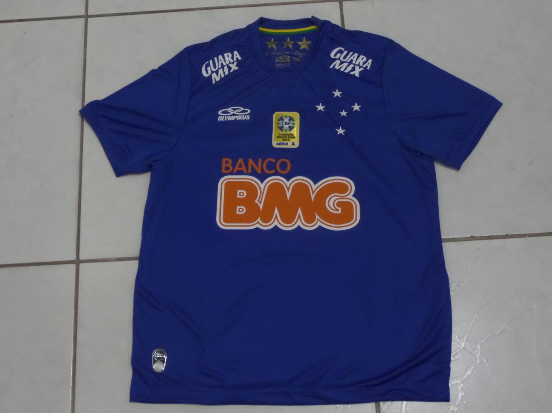 Cruzeiro Home camisa de futebol 2014. 808c64a66af45