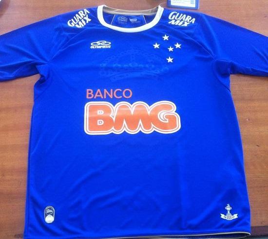 Cruzeiro Home Maillot de foot 2014. 1e2a826f670e2
