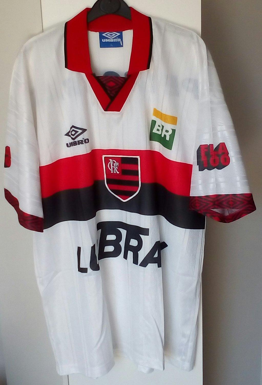 Flamengo Away football shirt 1996 - 1998.