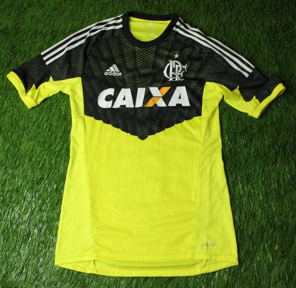 Flamengo Goalkeeper Maillot de foot 2014 - 2015. f9f68bca4