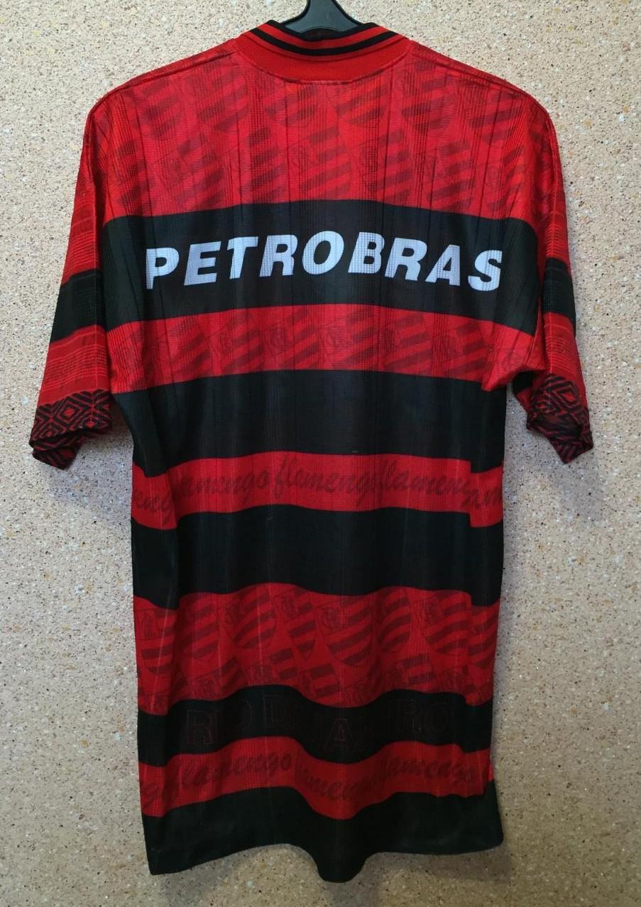 Flamengo Home football shirt 1995 - 1996.