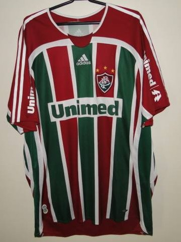 0b2edc6c03 Fluminense Home camisa de futebol 2008 - 2009 ...