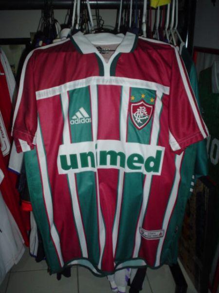 44e704167f Fluminense Home camisa de futebol 2002 - 2003.