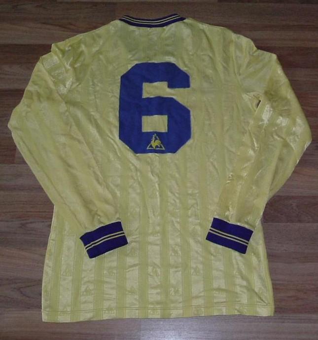 Everton Away Football Shirt 1985