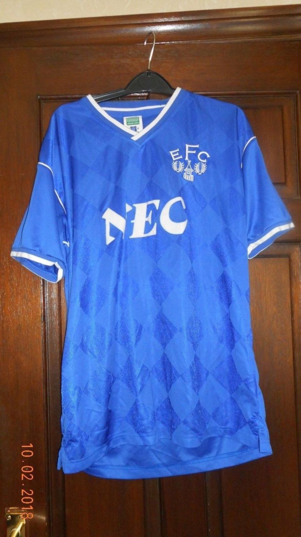 Everton Retro Replicas Camisa De Futebol 1986