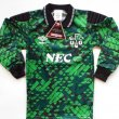 Goalkeeper football shirt 1990 - 1992