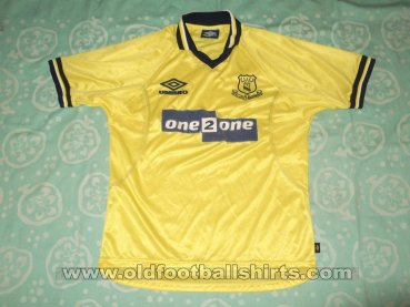 Everton Third football shirt 1998 - 1999
