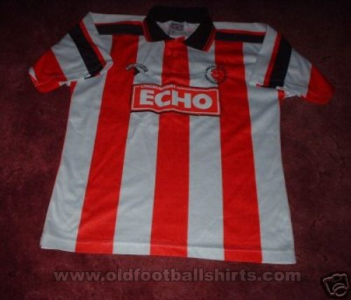 Lincoln City Local Camiseta de Fútbol 1995 - 1997