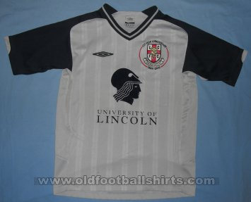 Lincoln City Uit  voetbalshirt  2009 - 2010