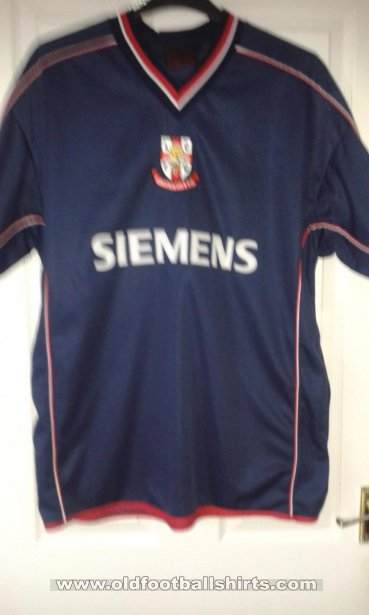 Lincoln City Uit  voetbalshirt  2003 - 2004