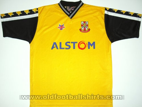 Lincoln City Uit  voetbalshirt  2001 - 2002