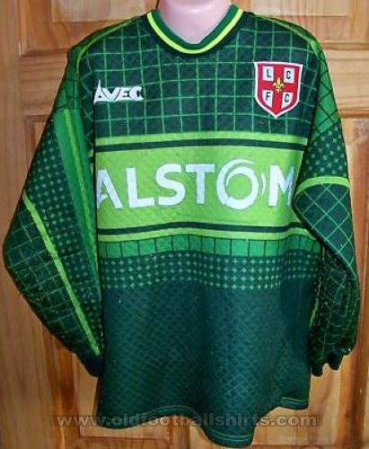 Lincoln City Goalkeeper baju bolasepak 2000 - 2001