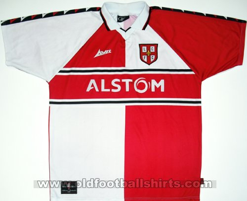 Lincoln City Home football shirt 2000 - 2001