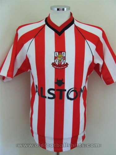 Lincoln City Home football shirt 2002 - 2003