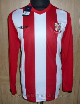 Lincoln City Home football shirt 2008 - 2009