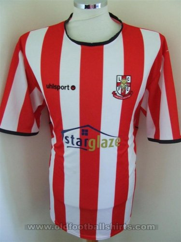 Lincoln City Home football shirt 2006 - 2007