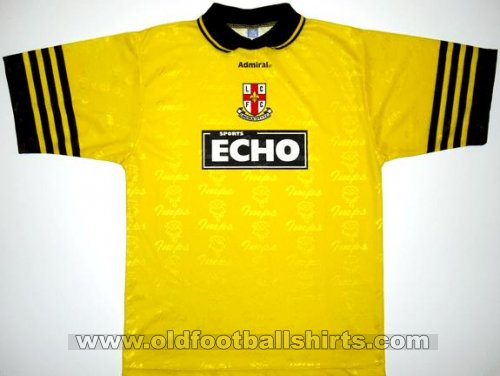 Lincoln City Away baju bolasepak 1997 - 1998