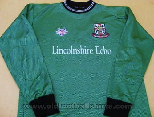 Lincoln City Goalkeeper futbol forması (unknown year)