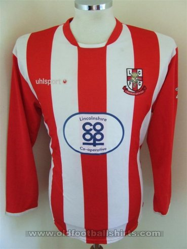 Lincoln City Vrouwenteams  voetbalshirt  2006 - 2007