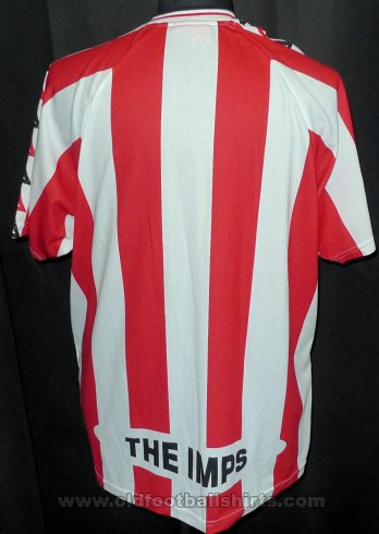 Lincoln City Home football shirt 1999 - 2000