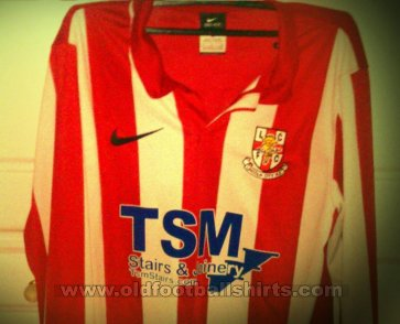 Lincoln City Home football shirt 2012 - 2013