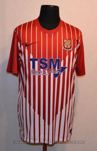 Lincoln City Thuis  voetbalshirt  2011 - 2012